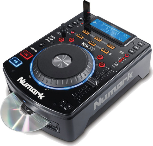numark ndx500 cd player mp3 memorias usb controlador softwar