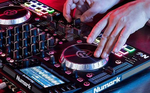 numark nvii controladora de dj con doble pantalla serato