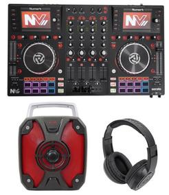 Numark Nvii Serato Dj Controller 4-channel, Usb + Rockbox