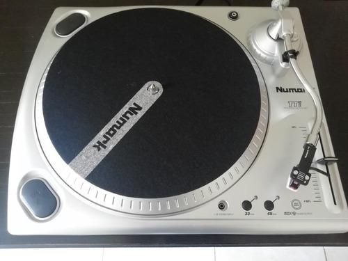 numark ttusb  tocadiscos de 33 1/3 y 45 rpm con interfaz usb