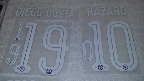 numeracion chelsea premier y champions league