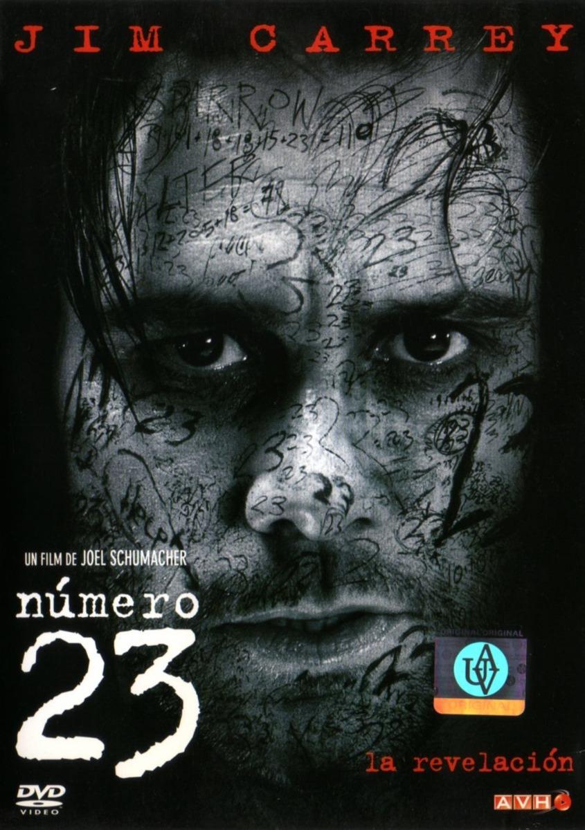 El hombre nuevo y la idea nueva, 2023 Numero-23-jim-carrey-virginia-madsen-dvd-original-D_NQ_NP_841260-MLA30090080382_042019-F