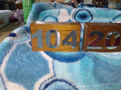 numero aço inox 304 espelhado polido apartamento porta 4cm