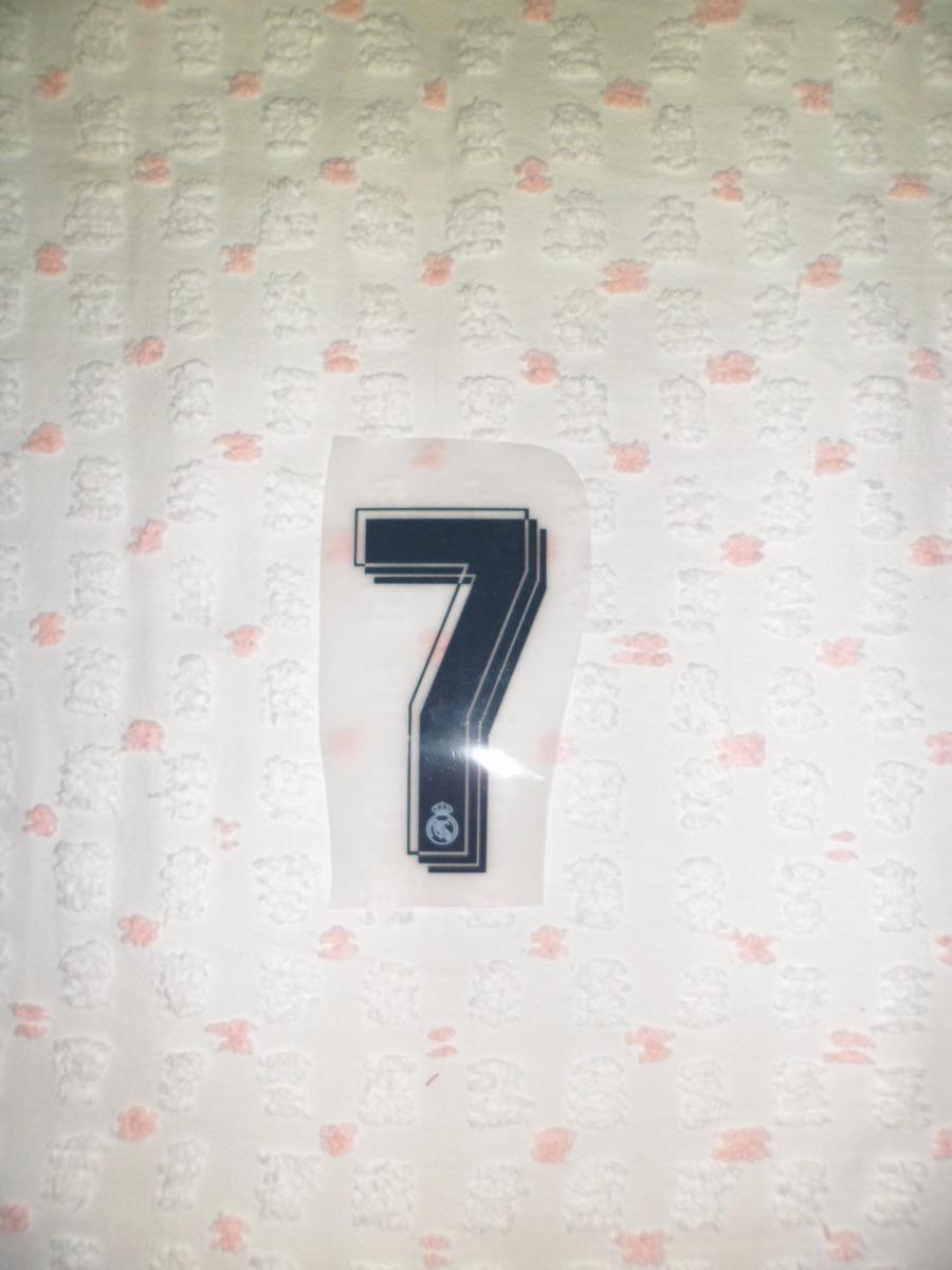 629fed7d7d Número Frente Calção Real Madrid Portugal Cristiano Ronaldo - R  7 ...