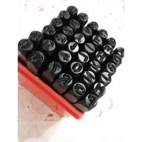 Numero Letras Golpe 6mm-flete Gratis En Capital