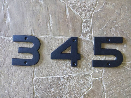 número para casa house number mod. munich 10 cm