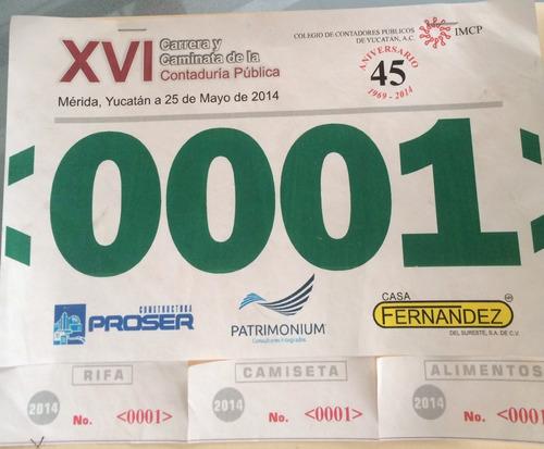 numero para maraton, numero de tyvek, numero para deportista