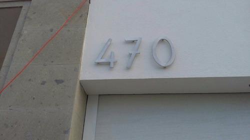 número residencial de aluminio modelo montreal 15 cm de altu