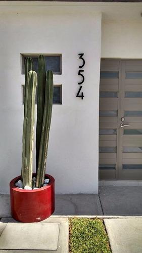 número residencial modelo montreal 11 cm de altura