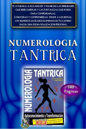 numerología tantrica / autoconocimiento y transformacion