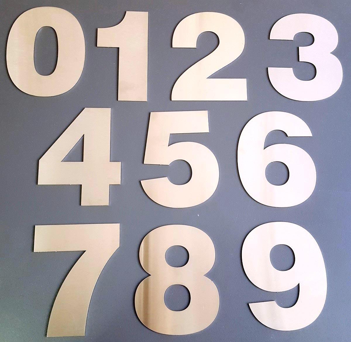 numeros acero inoxidable 8 cm frentes casa x 3 unid verashop 168