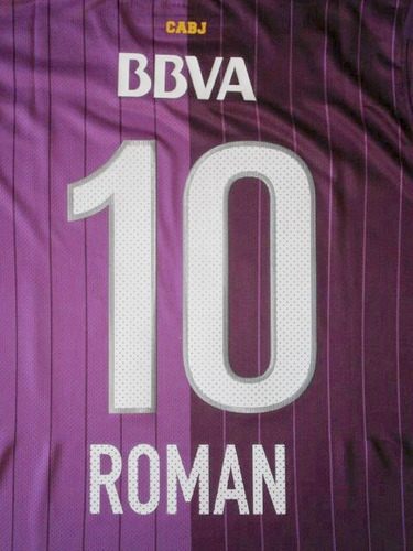 números boca juniors torneo verano 2013 camiseta violeta