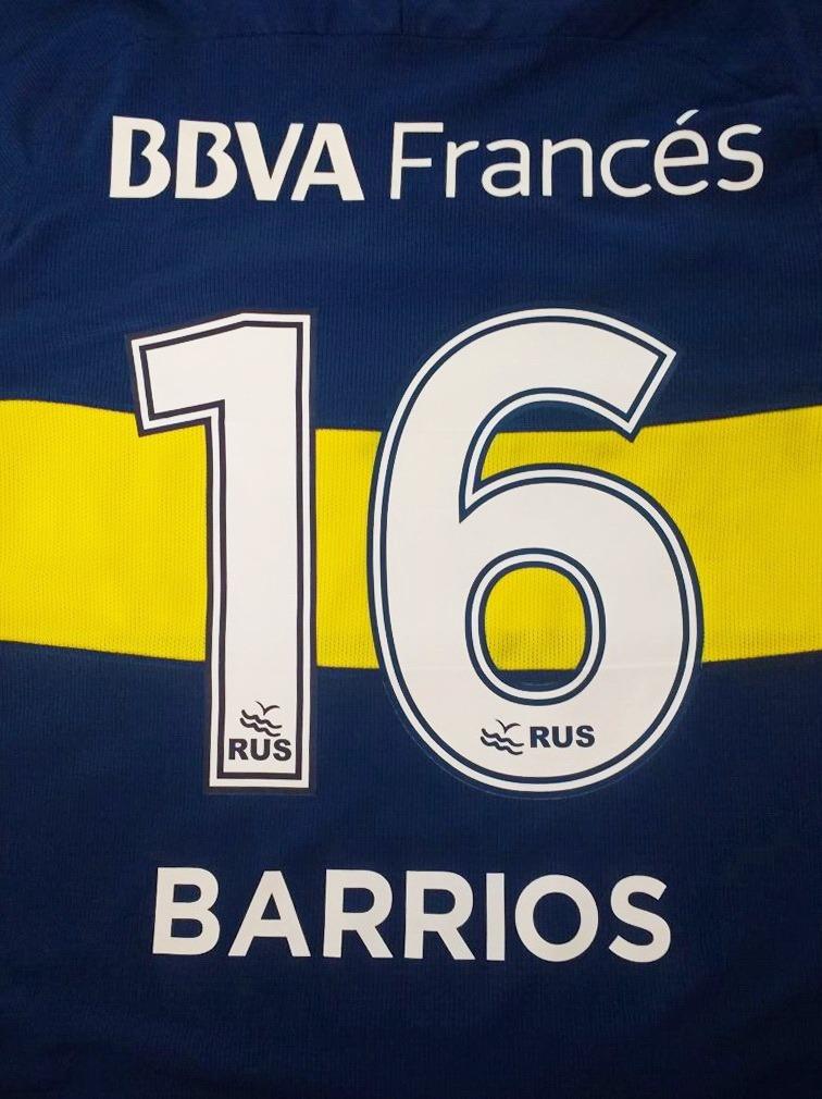 Números Boca Juniors Torneos 2017-2018- Utilería Exclusivo -   180 ... c3ad0811170bb
