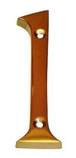 números de bronce 100 mm n°1 blister        ab brass   n