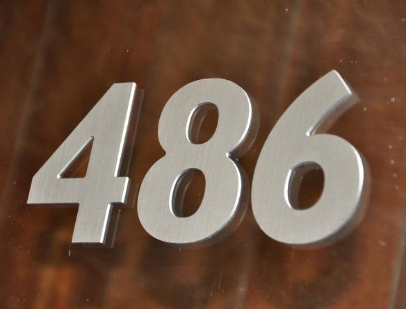 numeros de puerta  numeros para casa en aluminio compuesto