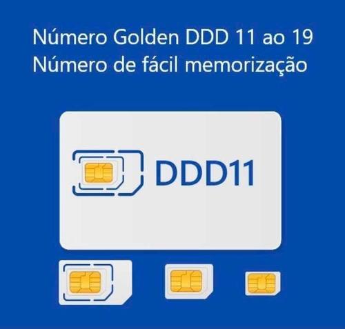 números golden/ todos os ddds/ número de fácil memorização!