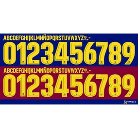 3f99bb0862c6b Tipografia Barcelona Messi en Veracruz en Mercado Libre México