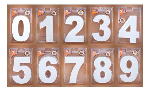 números  para casa de pvc 20mm 16cm de altura