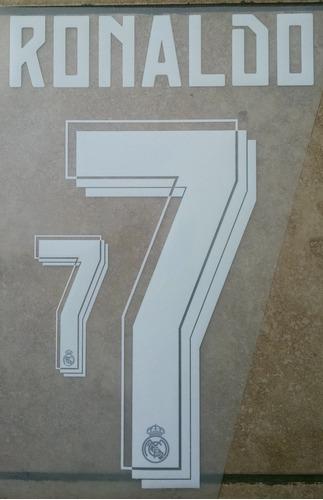 numeros real madrid 15-16 ronaldo kroos benzema james bale