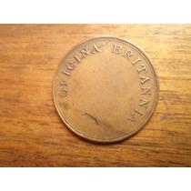 Ficha Salitrera Oficina Britannia. $ 15000