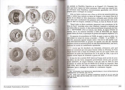 numismática (sobre carimbos)