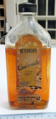 nunca antes visto! 1º detergente brasileiro sem uso!