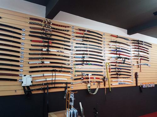 nunchaku profesional de madera cabezal giratorio 30 cm