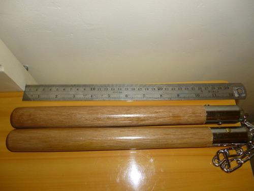 nunchakus de madera y metal artes marciales defensa personal