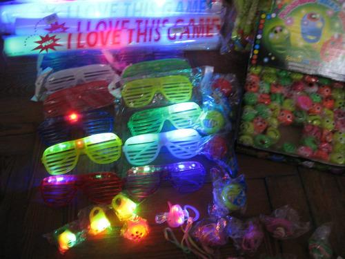 nuñez. barras luminosas goma espuma tricolor rompecocos