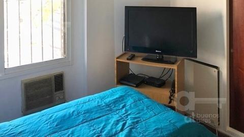 nuñez. casa tipo triplex 3 ambientes con terraza. alquiler temporario sin garantías.