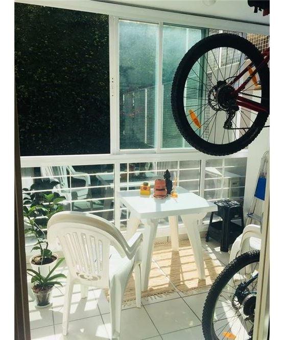 nuñez - dpto 2amb a la venta con patio y balcón