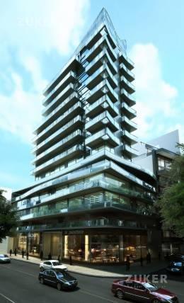 nuñez monoambiente a estrenar en torre gran categoría, piso alto.