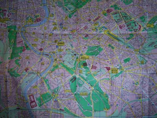 nuova pianta di roma. new map of rome. nouveau plan de rome