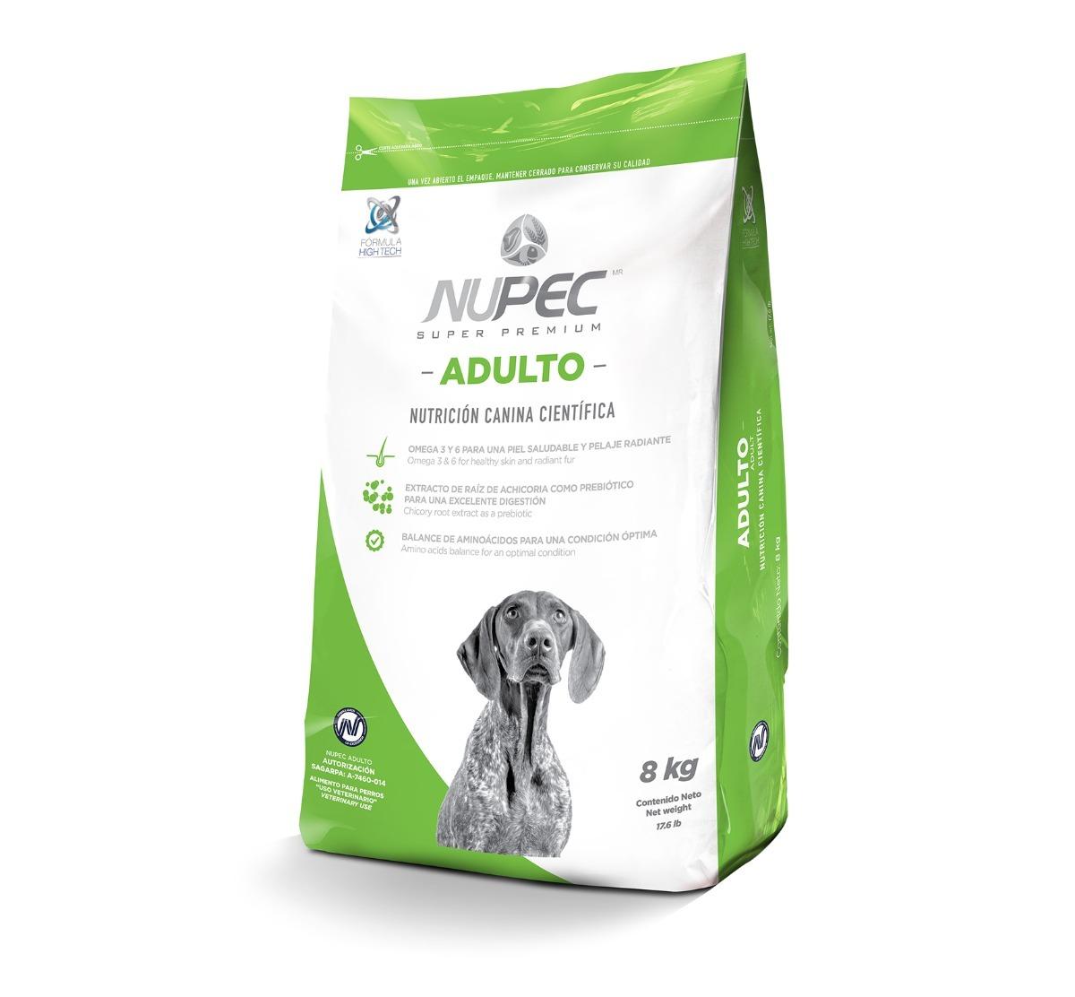 bultos nupec adulto 20 kg alimento perro adulto croquetas