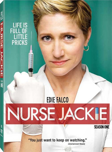 nurse jackie temporada 1 original nueva y sellada!