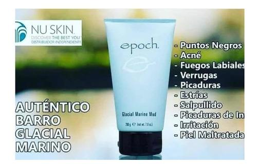 nuskin epoch® glacial marine mud mascarilla barro marino