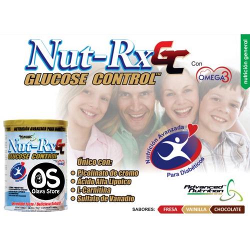 nut rx control glucosa diabetes (diabeticos)