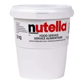 Nutella 3kg Balde Gigante Original Oferta Limitada Preço