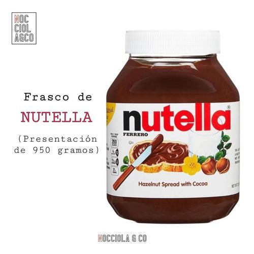 nutella 950 gr  10 americanos