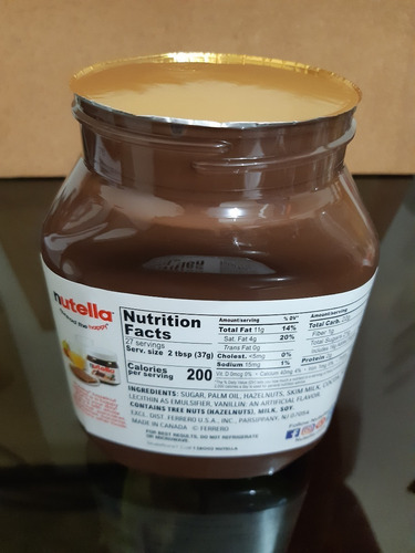 nutella 950 gramos