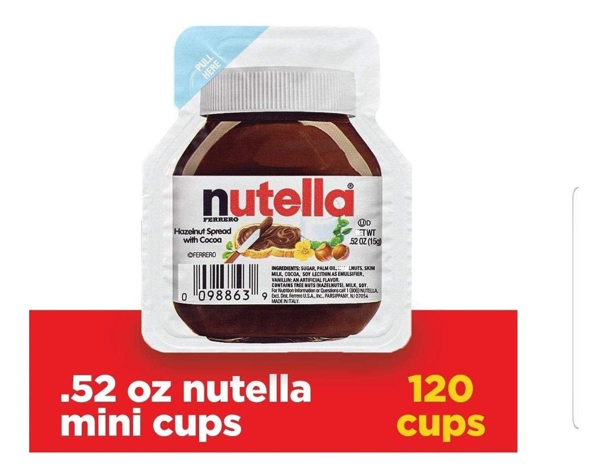 Nutella 950gr, 750gr, 371gr, Mini Nutella, Nutella Go