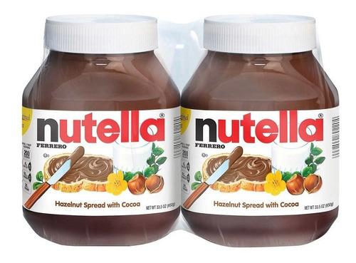 nutella ferrero dulce chocolate 950 grs 2 por 1 sellada