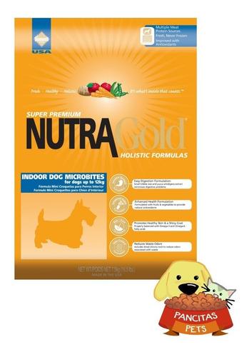 nutra gold  dog microbites 7,5kg - revise envío gratis