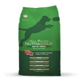 nutra gold duck 13 kg. envío gratis santiago braloy mascotas
