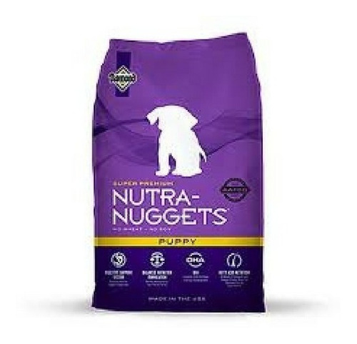 nutra nuggets puppy 15kg + obsequio