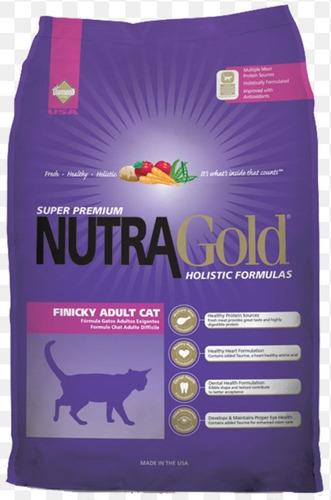 nutragold finicky holistico gatos adultos 7.5kg