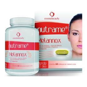 Nutrame Melannox 60 Capsulas Cosmobeauty Clareamento