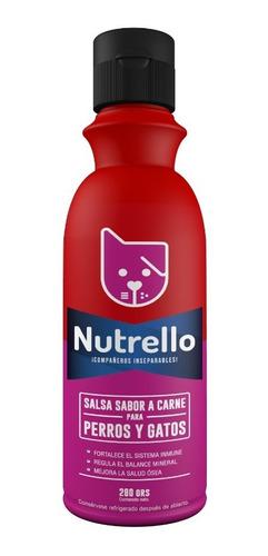 nutrello salsa para perros y gatos
