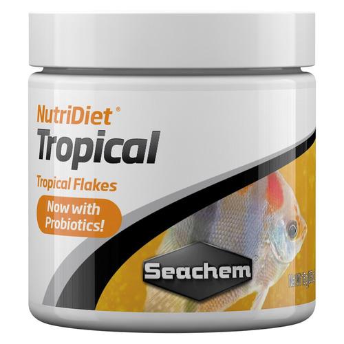 nutri diet tropical flakes 15g seachem alimento