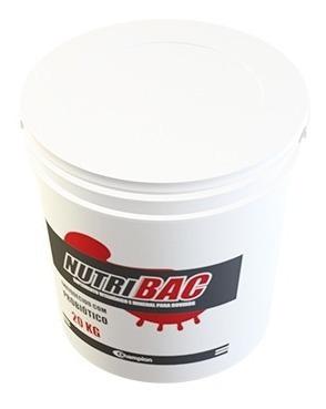 nutribac 20 kg champion saúde animal probiótico para bovinos